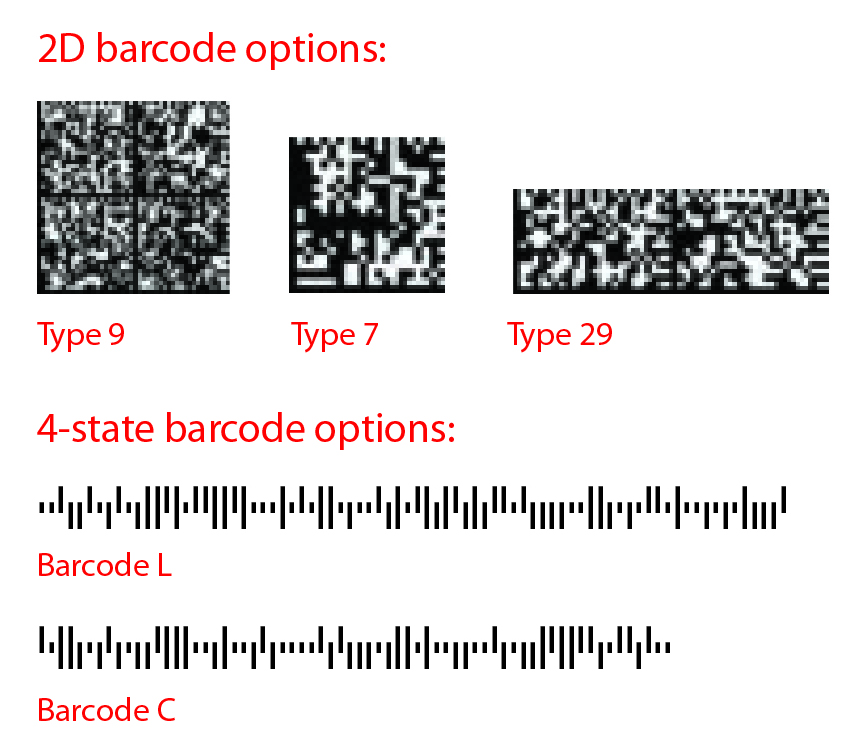 Mailmark - 2D and 4D Barcodes - cheapest way to post | Mail