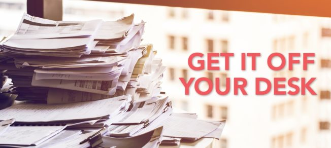 GET IT OFF YOUR DESK – Benefits of outsourcing your direct mail to Mail and Print